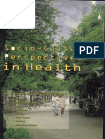 Soci0-Cultural Perspectives in Health