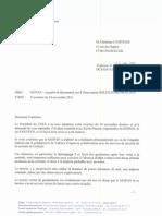 REPONSE  enquête et classement cas dobservation GOLFECH _82_ 06 10 2010