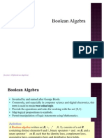 Lec15 Boolean Algebra