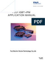 FUJI IGBT–IPM APPLICATION MANUAL