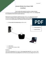 Setting Router Wireless Linksys E1000