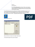 Setting Up SAP Logon Groups