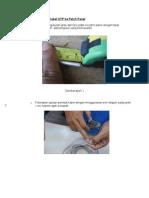 Pemasangan UTP Ke Patch Panel