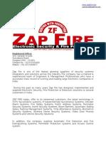 Company Profile -ZAP FIRE