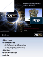 Assembly Modeling Using ANSYS