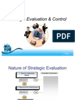 Strategic Evaluation and Control- Asif