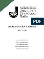 ANALISIS SURAH YASSIN