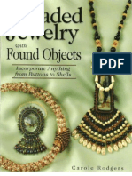 Beaded Jewerly With Found Objects