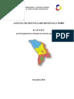 RAPORT anual privind implementarea Planului de activitate / ianuarie-decembrie 2010