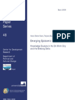 Knowledge Clusters in Ho Chi Minh City and the Mekong Delta