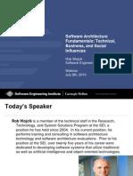 Sei Software Architecture Fundamentals Presentation