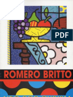 Romero Britto - Exhibition Catalogue Neo-Pop Cubism,