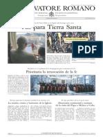 L´ OSSERVATORE ROMANO. 05 Febrero 2012