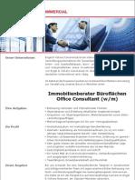 Immobilienberater Büroflächen (m/w) / office consultant (m/f)