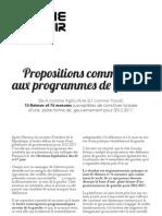 Propositions Communes de la Gauche pour 2012 à télécharger ici
