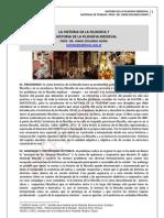 23. SENTIDO DE LA HISTORIA DE LA FILOSOFIA Y LA FILOSOFIA MEDIEVAL