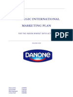 Strategic International Marketing Plan