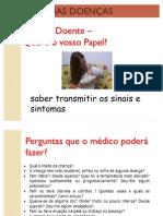 Sintomas de doenças em crianças