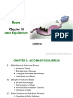 Chapter 3 Acids & Bases