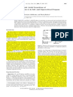Fluid-Liquid and Fluid-Solid Transitions of PE With Octene