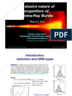 Miguel A. Aloy- The elusive nature of progenitors of Gamma-Ray Bursts