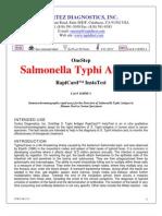Typhi Rapid Test