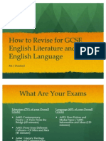 Year 11 Study Tips, OCR English EXam_New and Improved