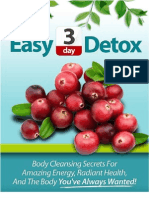 Easy Three Day Detox