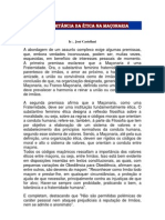 A IMPORTÂNCIA DA ÉTICA NA MAÇONARIA - JB NEWS - INFORMATIVO Nº 450