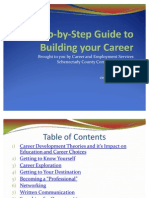 A Step-By-Step Guide to Building Your Career