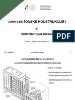 Konstruktivni sustavi