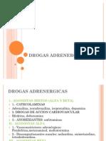 DROGAS ADRENERGICAS
