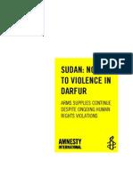 Arms to Sudan