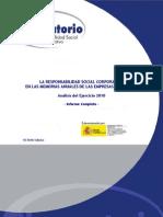 El Observatorio de RSC presenta su informe anual de las memorias de sostenibilidad del Ibex 35