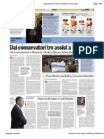 Avvenire - Dai conservatori tre assist a Santorum, di Paolo M. Alfieri, 09/02/12