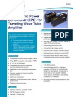 EPC for Travelling Tube Amplifier