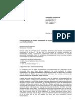 Prise de position Ville Genève - Projet de Constitution
