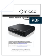 Micca EP950 User Manual