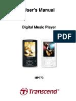 Transend Music Player Manual