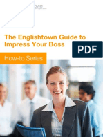 EF English Town Guide Impress Your Boss BR