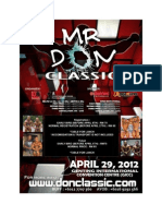 Mr Don Classic 2012
