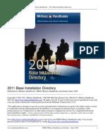 2011 Base Installation Directory