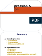 Gene Expression n Regulation