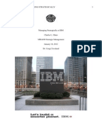 Managing Strategically at IBM