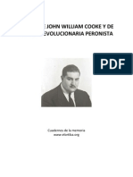Textos de John William Cooke y de ARP