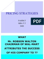 Scm Pricing