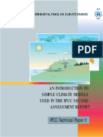 An Introduction to Simple Climate Models Used in the IPCC Second Assessment Report - English