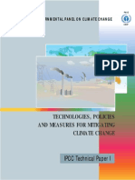 Technologies, Policies and Measures for Mitigating Climate Change - English