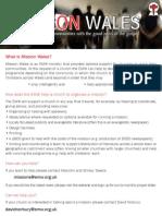 Miision Wales 2012 Bilingual 1