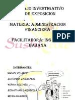 Financier A Expo